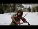 Peter Hollens, Lindsey Stirling and Pentatonix - Skyrim